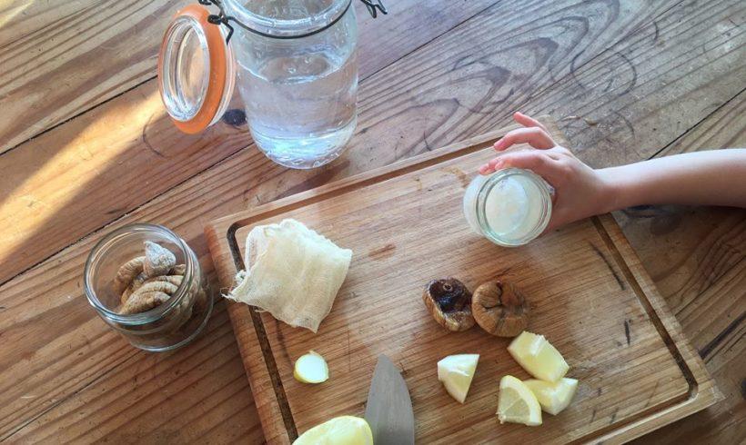 01/07/20 Atelier parent-enfant : kéfir de fruits et lacto-fermentés